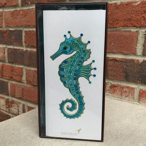 Papyrus Sea Horse Blank Card Set